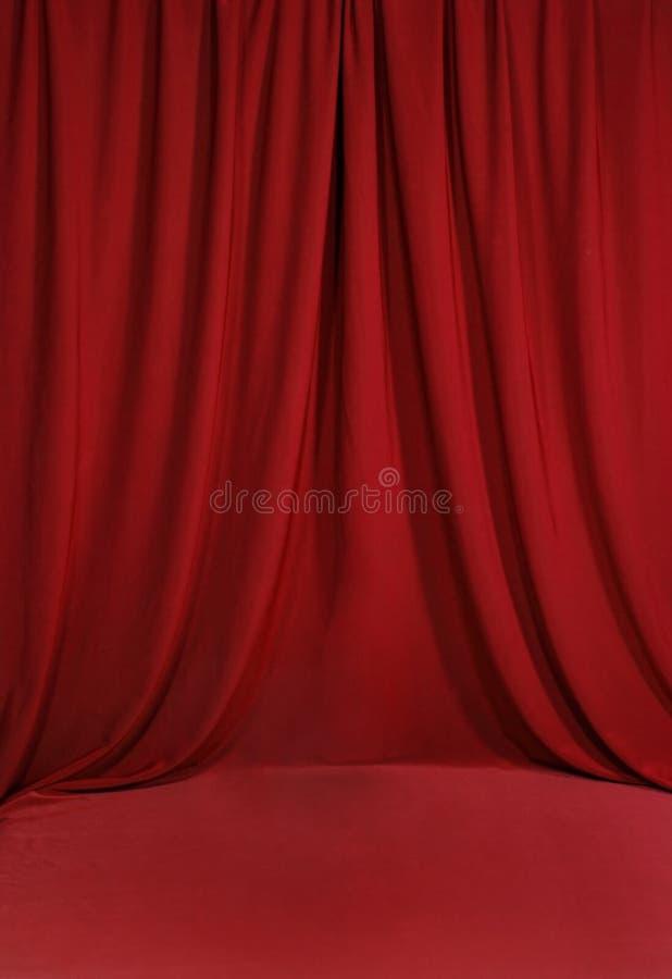 背景血液被装饰的红色 皇族释放例证