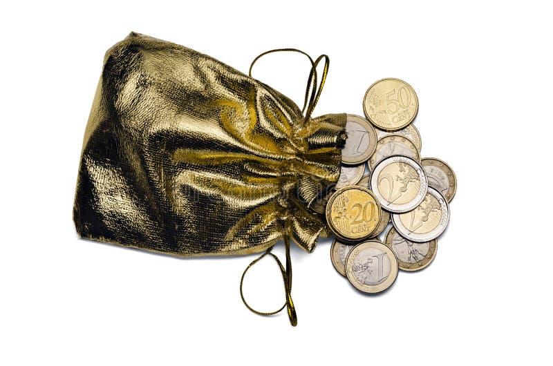 背景袋子图象grunge图象货币向量 免版税库存图片