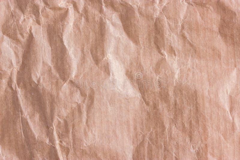 背景被弄皱的纸张 免版税库存图片