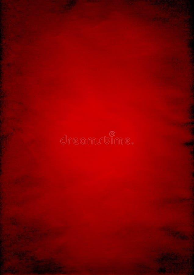 背景被弄皱的纸红色 免版税库存照片