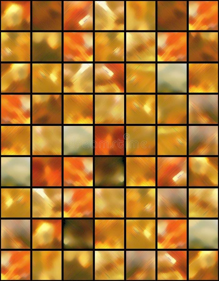 背景被摆正的色的光 库存例证