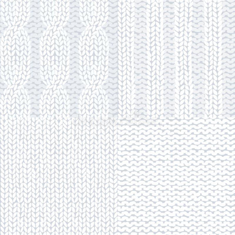 背景被编织的无缝 向量例证