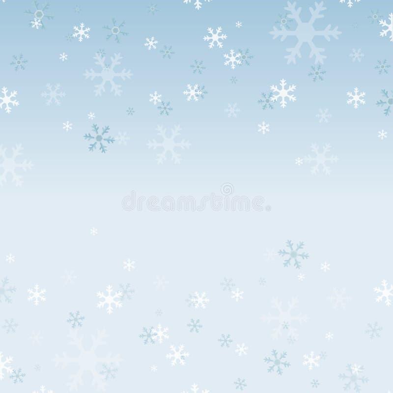 背景装饰设计图象例证雪花向量 库存例证