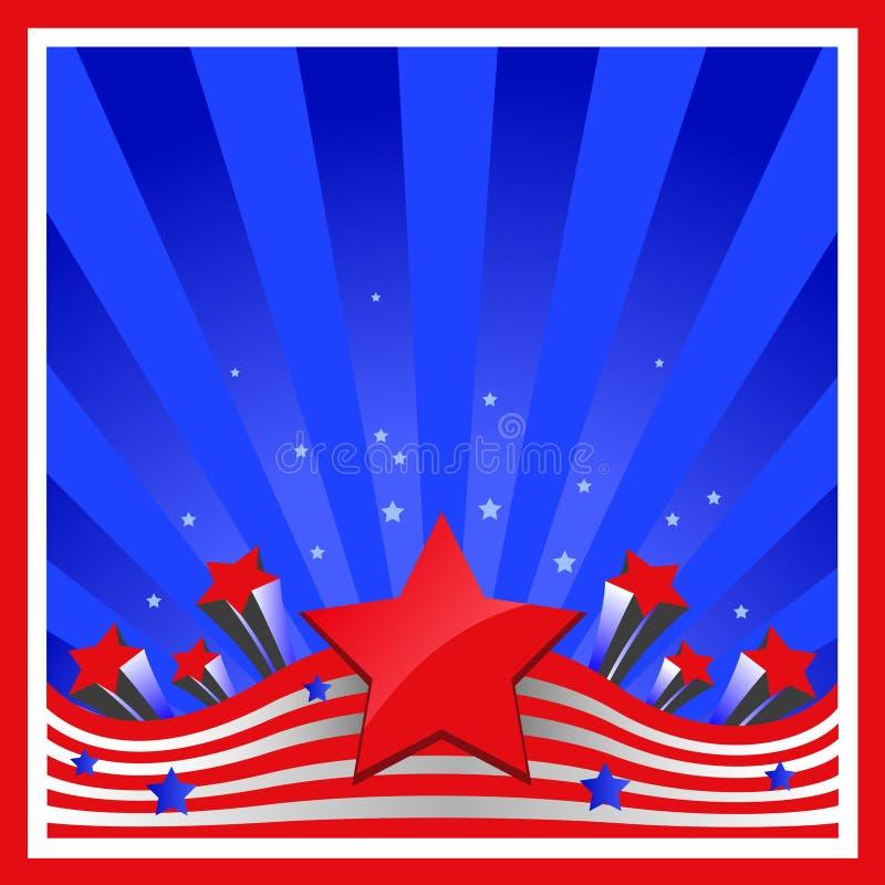 背景要素标记美国 免版税库存图片