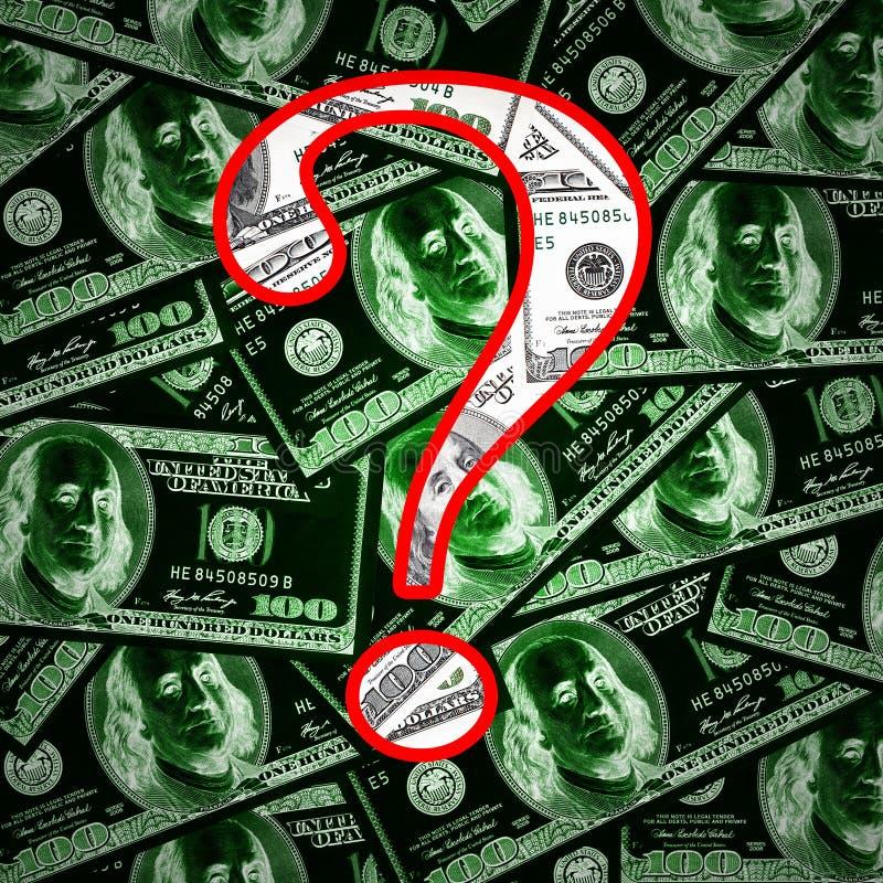 背景货币问题符号 图库摄影