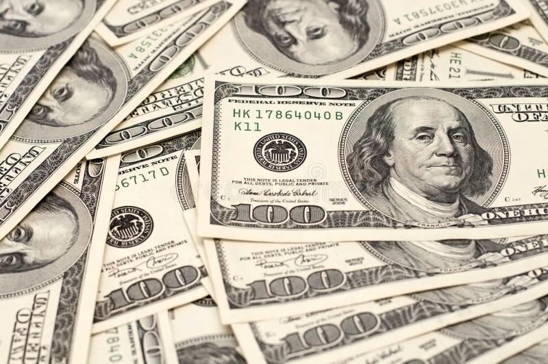 背景货币 免版税库存图片