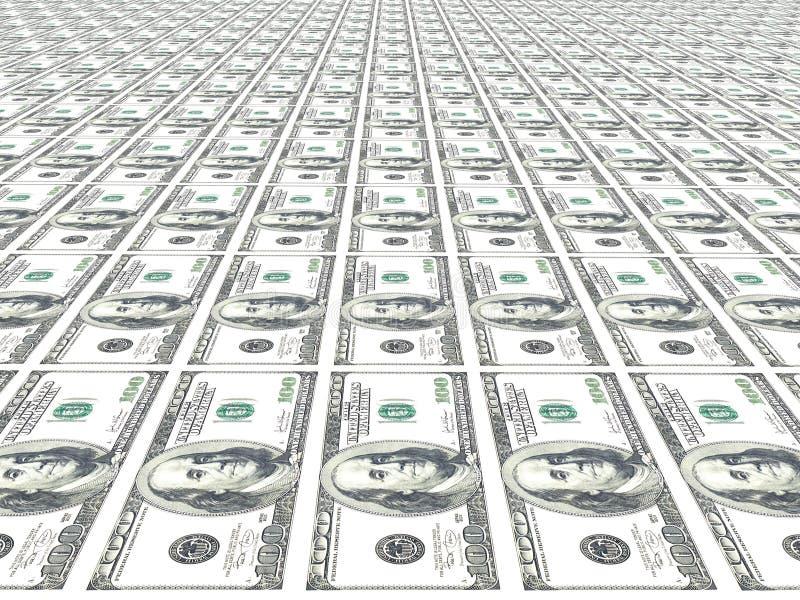 背景货币 向量例证