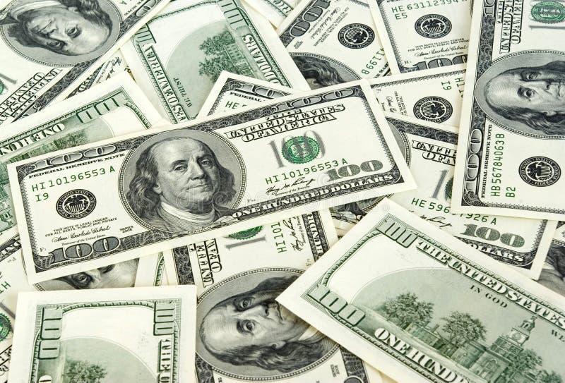背景货币 库存照片