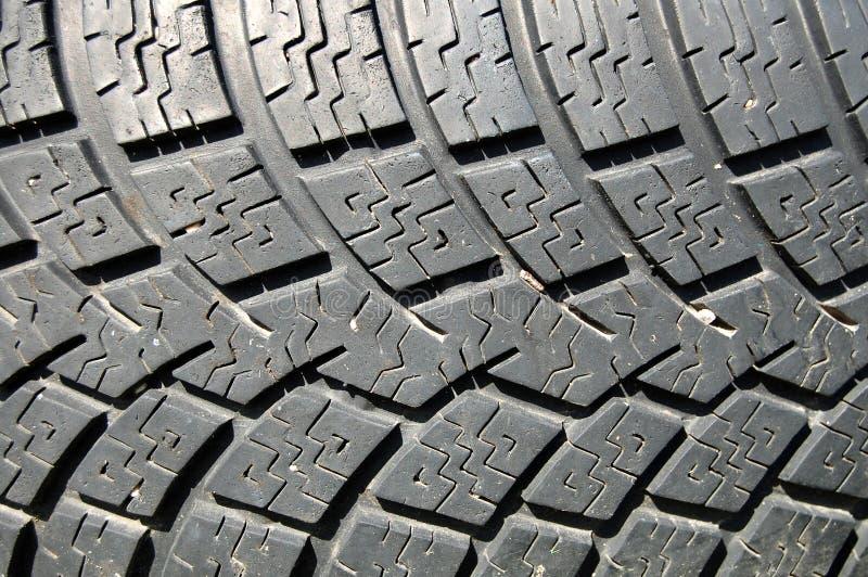 背景轮胎 免版税库存照片
