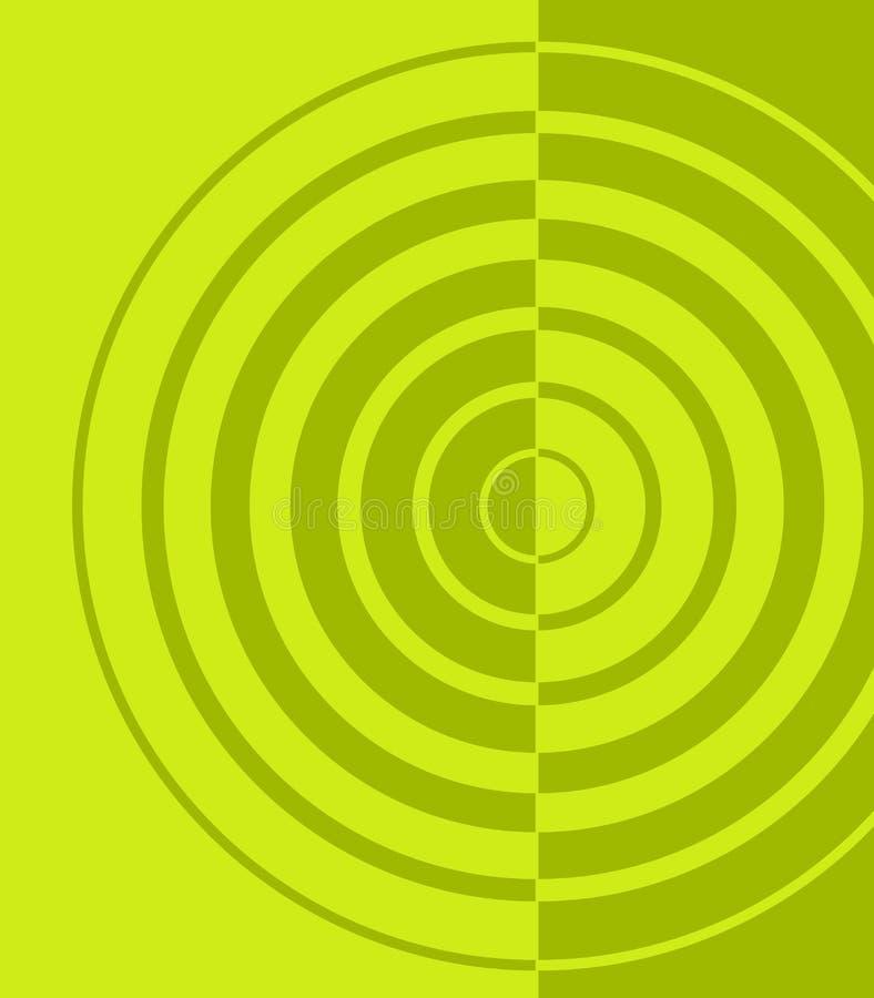 背景辐形口气二 向量例证