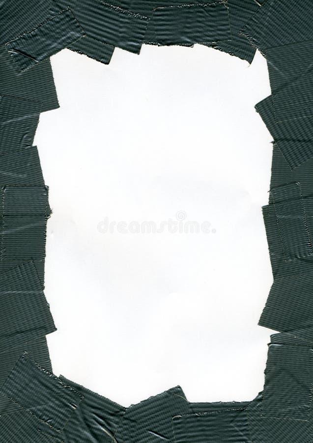 背景输送管框架磁带 免版税库存图片