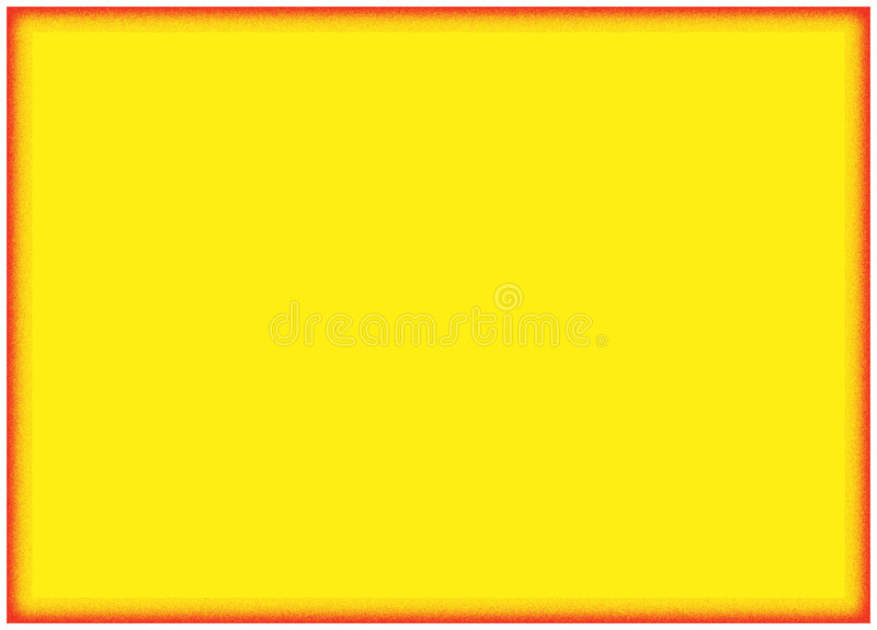 背景边界橙黄色 向量例证