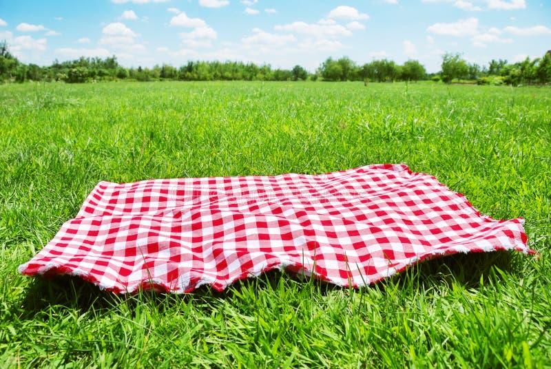 背景野餐 免版税库存照片
