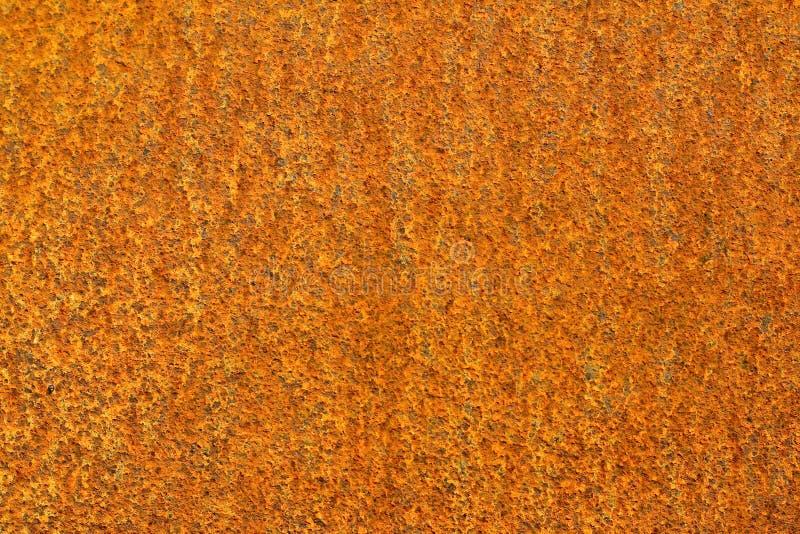 背景金属橙色生锈 库存照片