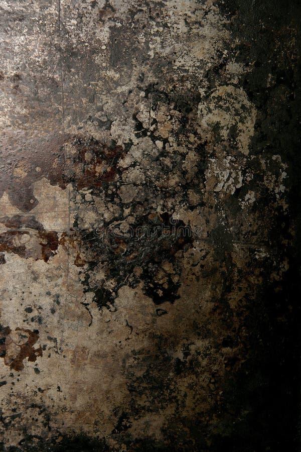 背景金属生锈了织地不很细 库存图片