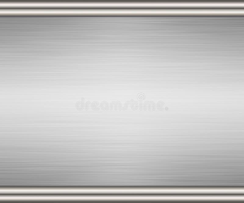 背景金属钢纹理 向量例证