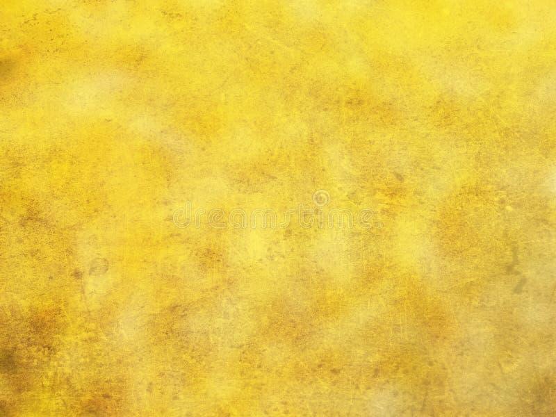 背景金黄黄色 库存图片