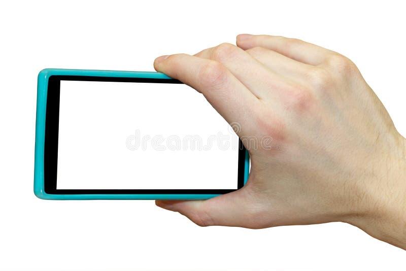 背景银行现有量藏品注意smartphone 与智能手机的射击 库存图片