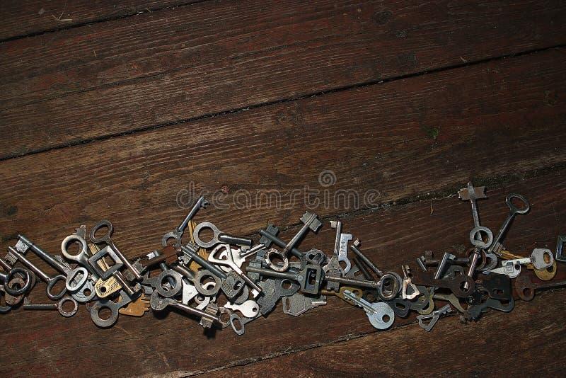背景锁上木 免版税图库摄影