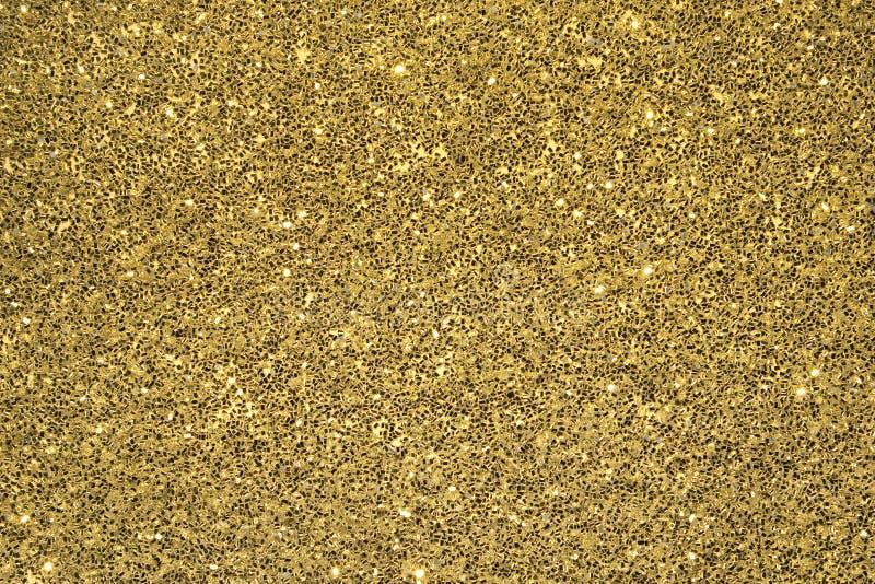 背景闪烁金子 免版税库存照片