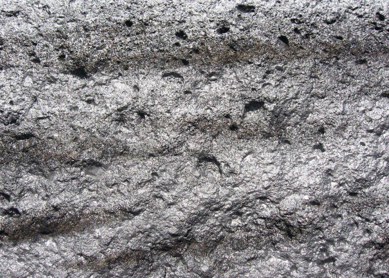 背景闪耀岩石的银 免版税库存图片