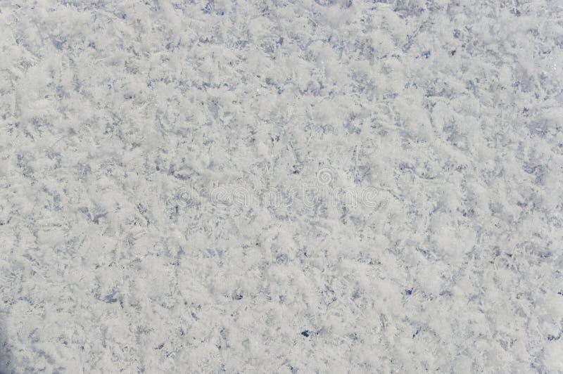 背景雪盖1 库存照片