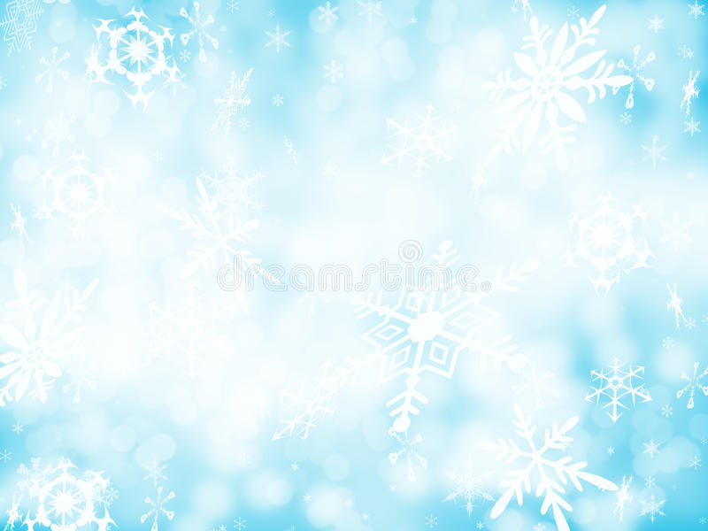 1背景雪 免版税图库摄影