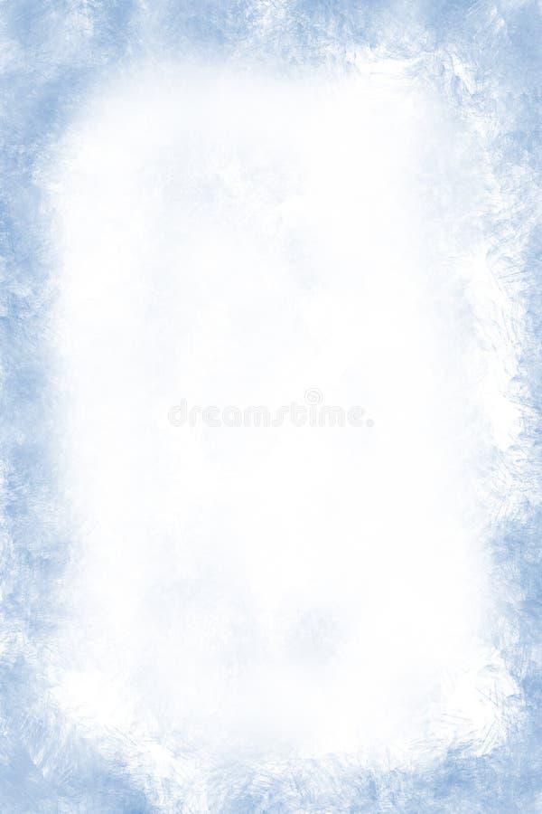 背景霜grunge冬天 免版税图库摄影