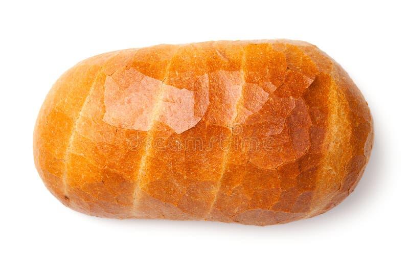 背景面包查出的白色 免版税库存图片