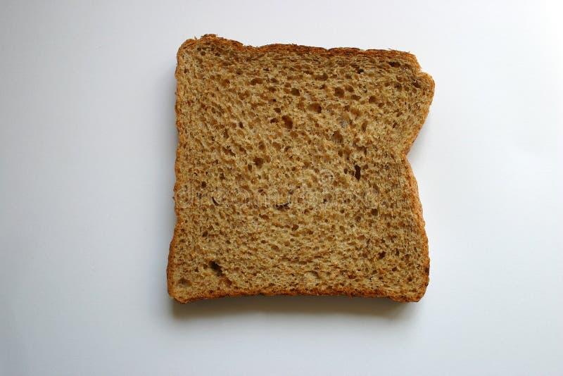 背景面包褐色查出的白色 免版税库存图片
