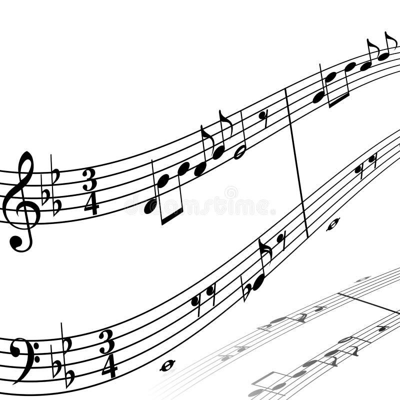 背景音乐 皇族释放例证