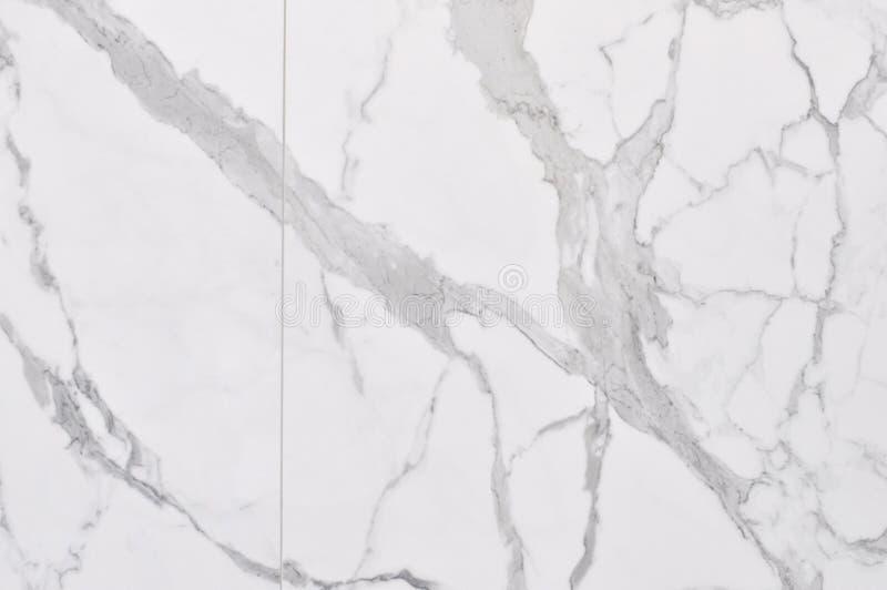 背景高大理石res纹理白色 免版税库存照片