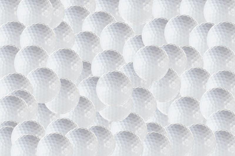 背景高尔夫球 免版税库存照片