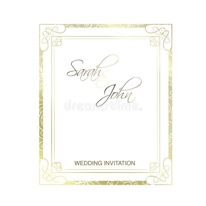 背景高雅重点邀请浪漫符号温暖的婚礼 3d美好的尺寸图框架例证三非常葡萄酒 设计的华丽元素 装饰圈 证明的,文凭,专利豪华装饰 Pla 库存例证