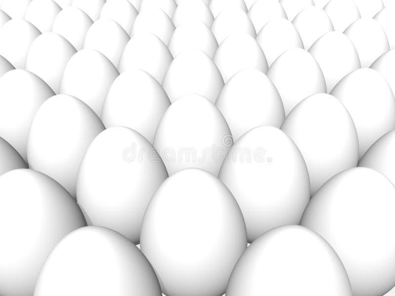 背景鸡蛋 库存例证