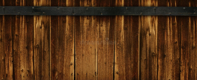 背景黑暗的额外的宽木头 库存照片