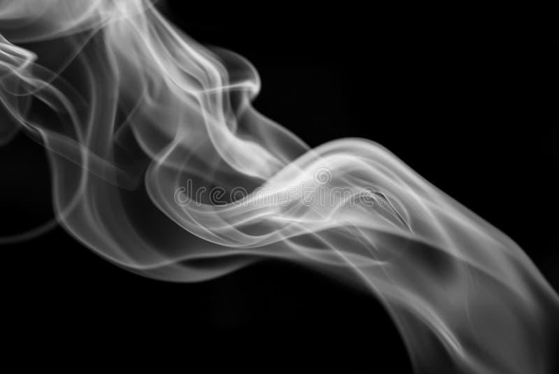 背景黑色烟 库存照片