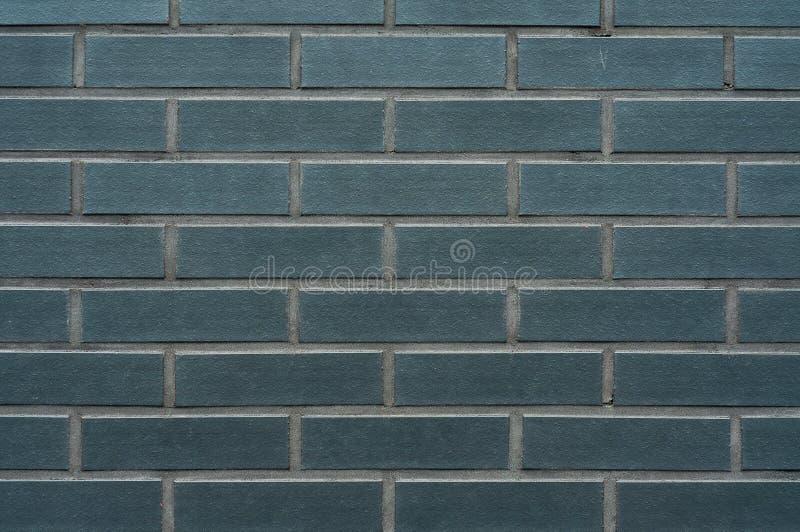 背景黑色砖墙 免版税库存图片