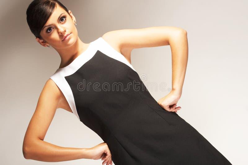 背景黑色礼服方式光设计 库存图片