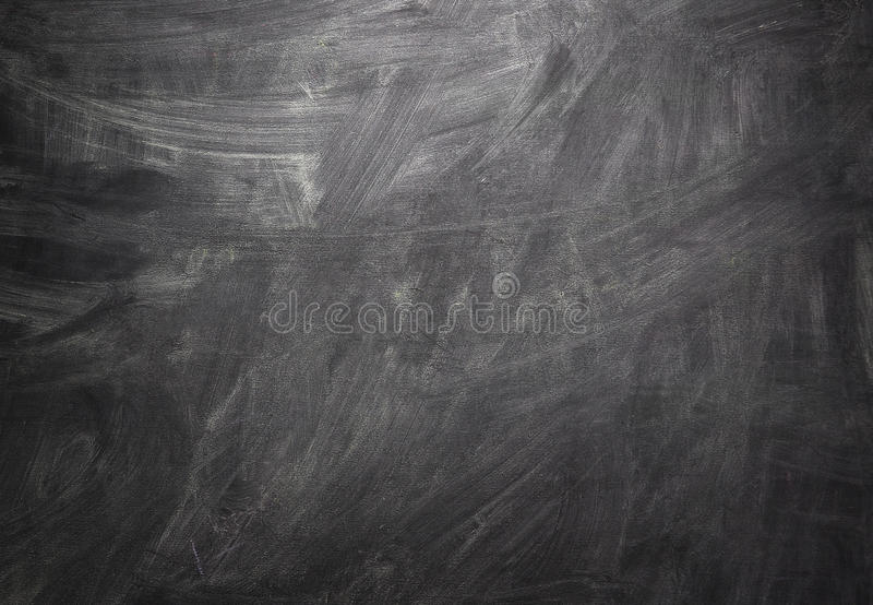 背景黑色空白黑板 图库摄影
