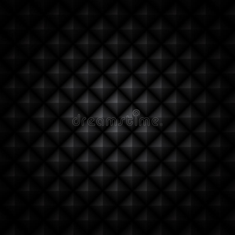 背景黑色雕琢了平面 向量例证