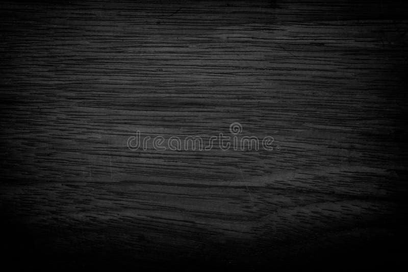 背景黑色grunge纹理 在困厄的木难看的东西纹理 库存照片