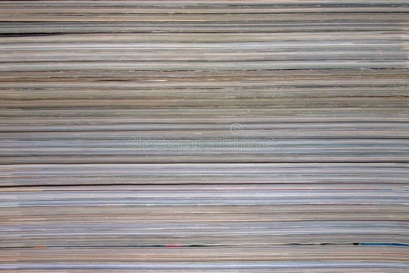 背景,堆的纹理杂志 免版税库存图片