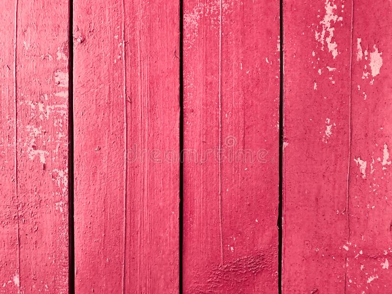 背景,桃红色颜色老脏的木板的纹理  免版税库存图片