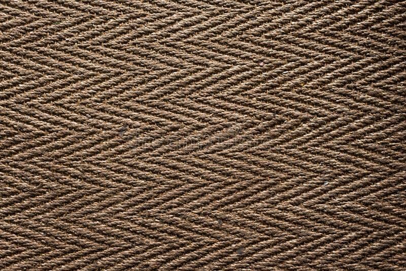 背景,被编织的地板地毯 库存照片