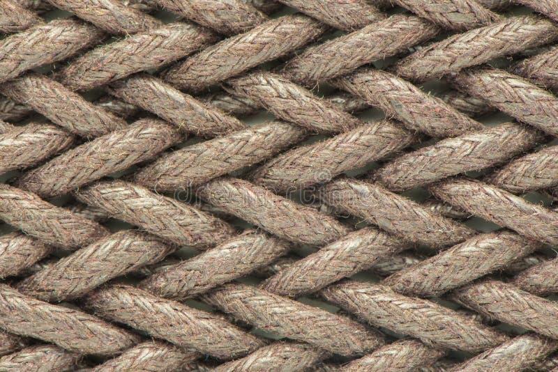 绳索背景-纹理可能为背景使用 免版税库存照片