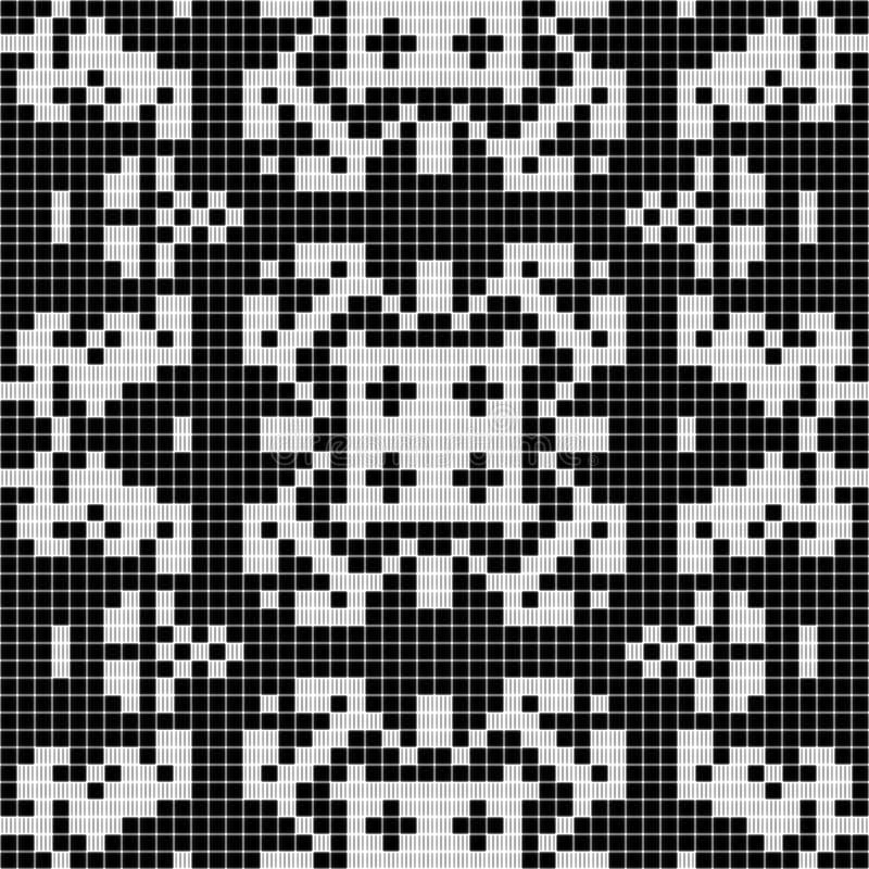 背景黑色几何白色 库存照片