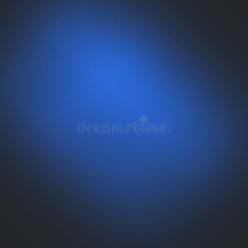 背景黑色蓝色 免版税库存照片