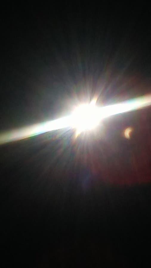 背景黑色设计太阳蚀的例证 库存照片