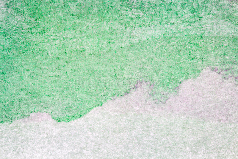 背景绿色水彩 库存例证